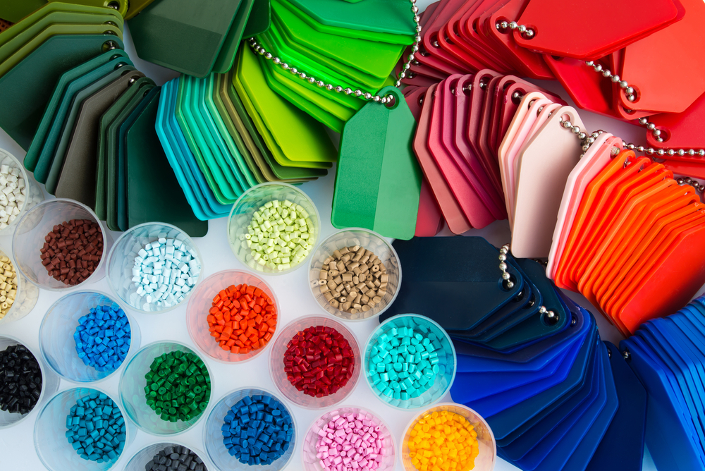 colored resin molded plastics