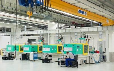Injection Molding Terminology: Robotics, Storage and Tonnage